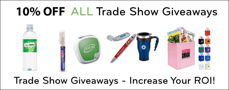 Trade Show Giveaways - Discount