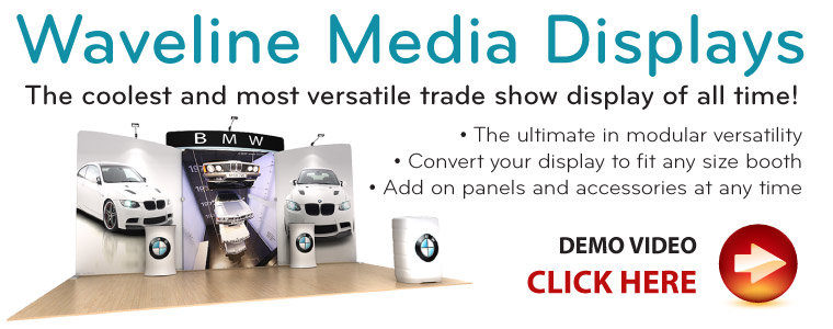 Waveline Media Display Kits and Booths