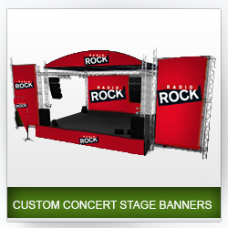 Concert and Stage Banners - Outdoor Displays