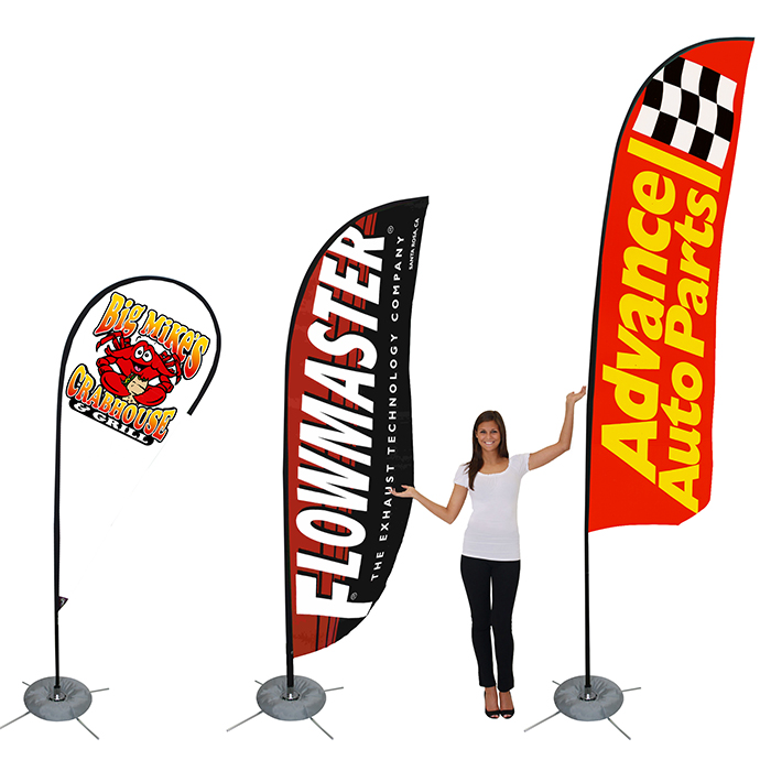 Business Flags and Banners | Bow Flags | Feather Banners