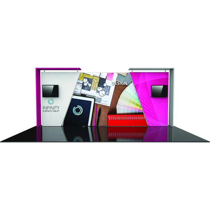 10 X 20 Trade Show Displays Booths