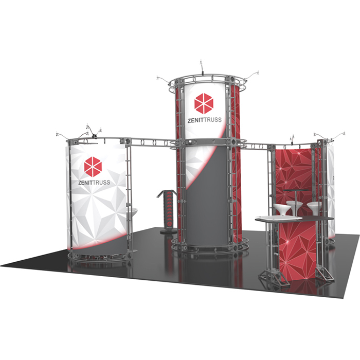 20 x 20 Trade Show Displays and Booths | APG Exhibits