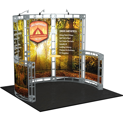 Trade Show Booth Layout : Q evon fine jewelry trade show booth set up layout q evon