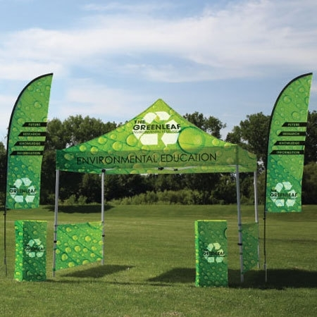 Custom Branded Pop Up Canopy Tents For Events Tradeshows