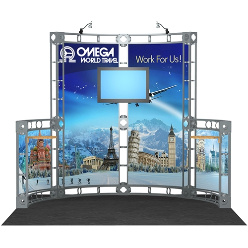 Interactive Trade Show Displays Trade Show Tv Stands